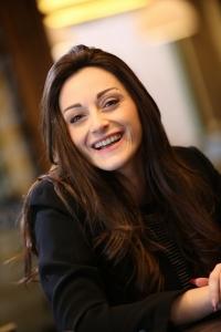 Michaela smiling