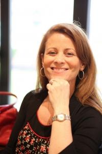 Kea's mom smiling